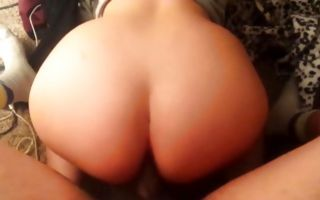 Horny man insanely fucking adorable GF with amazing butt