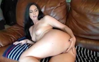 Impressive brunette Ex-GF Brittany Shae sucking pecker
