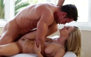 Adorable GF Natalia Starr deeply fucked in tight wet cunt
