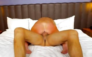 Marvelous Ex-GF swallowing meaty knob after insane sex