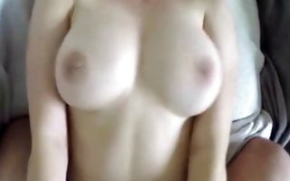 Impressive Ex-GF with big boobs deeply fucked in muff